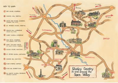 Shirley Country Map